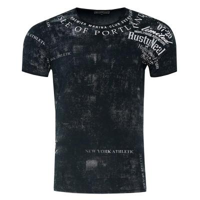 RUSTY NEAL tričko pánské 15244 regular fit