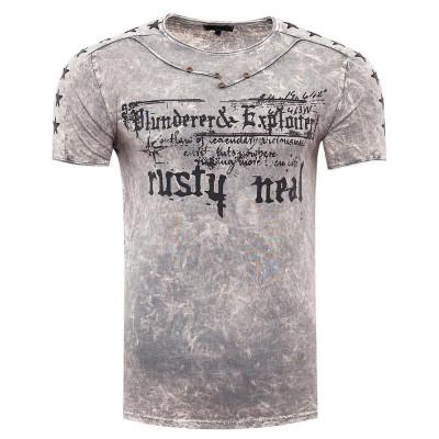 RUSTY NEAL tričko pánské 15192 regular fit