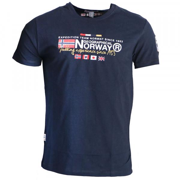 GEOGRAPHICAL NORWAY tričko pánské JAVIATOR SS MEN 100