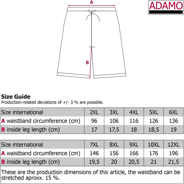 ADAMO plavky pánské KUBA nadměrná velikost