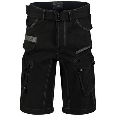 GEOGRAPHICAL NORWAY kalhoty pánské PANORAMIQUE MEN BASIC 063 bermudy kapsáče