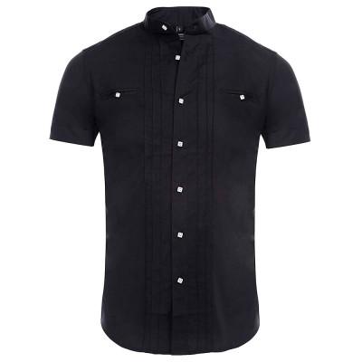 CARISMA košile pánská 9006 krátký rukáv slim fit
