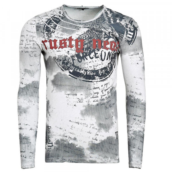 RUSTY NEAL tričko pánské 10140 regular fit