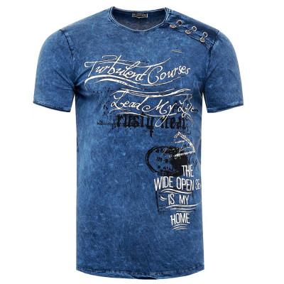 RUSTY NEAL tričko pánské 15194 regular fit