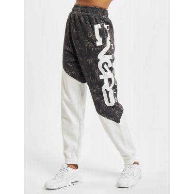 Dangerous DNGRS Blackweed Basic Sweatpants White Black