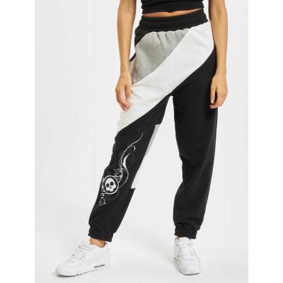 Dangerous DNGRS kalhoty dámské tepláky Skull Sweatpants Black