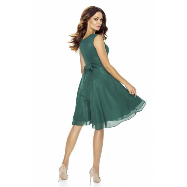 KARTES MODA sukienka z szyfonu KM227-4