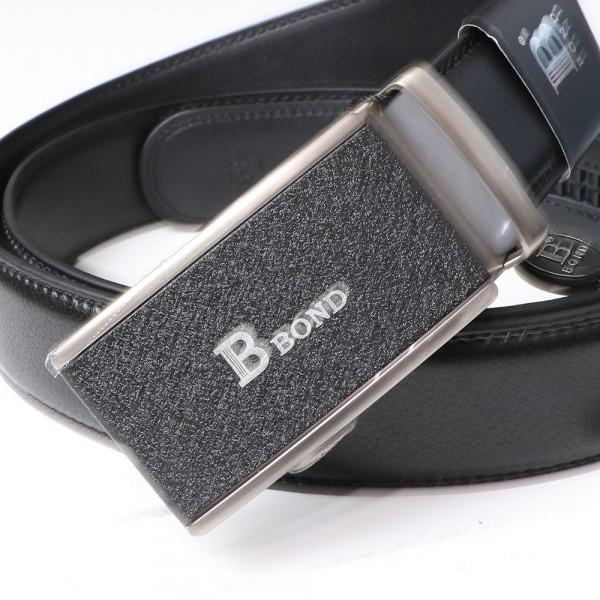 BOND pásek pánský kožený B11 automatická spona 1 šířka 3,5 cm