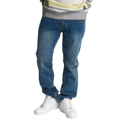 Ecko Unltd. kalhoty pánské Straight Fit Jeans Camp's St Straight Fit in blue