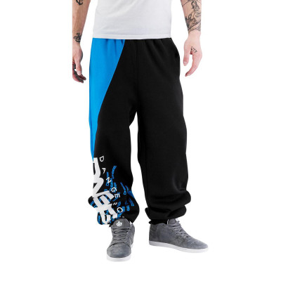 Dangerous DNGRS kalhoty pánské Sweat Pant Noah in black tepláky