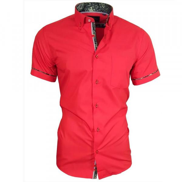 BINDER DE LUXE košile pánská 82905 krátký rukáv