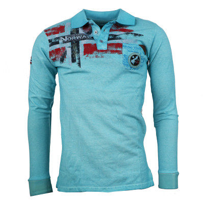 GEOGRAPHICAL NORWAY polokošile pánská KESPOTE LS MEN 100