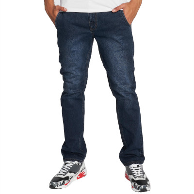 Dangerous DNGRS / Straight Fit Jeans Buddy in blue