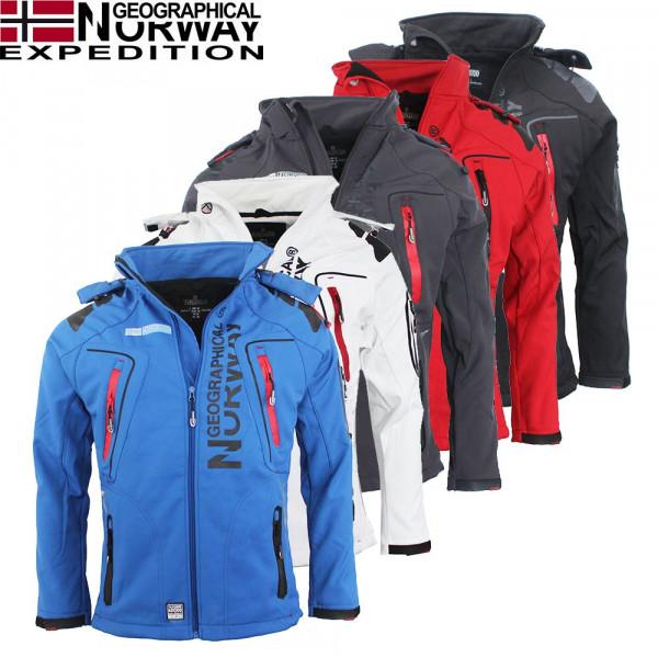 GEOGRAPHICAL NORWAY bunda pánská TAMBOUR softshell