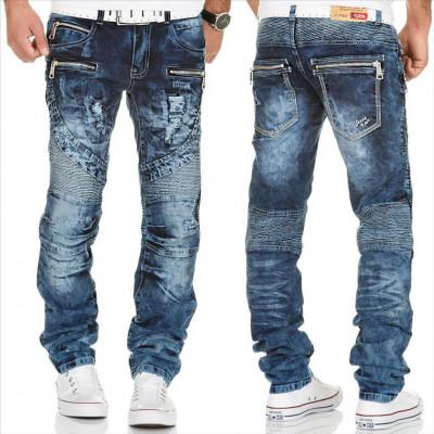 KOSMO LUPO kalhoty pánské KM139 jeans džíny