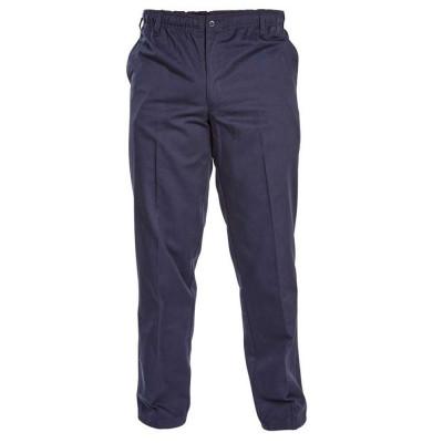 D555 kalhoty pánské BASILIO KS1408 nadměrná velikost elastický pas délka regular
