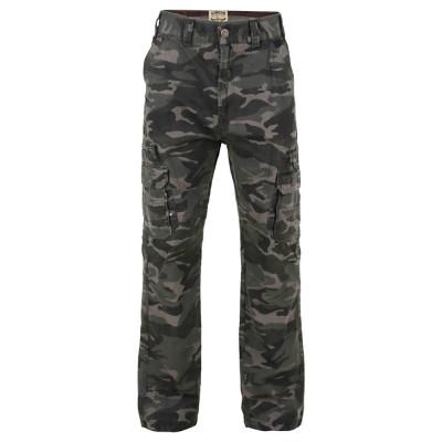 KAM kalhoty pánské KBS 120 kapsáče maskáče nadměrná velikost