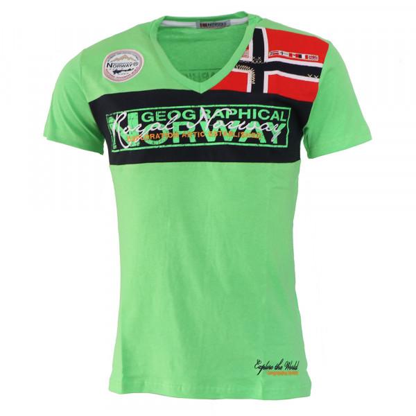 GEOGRAPHICAL NORWAY tričko pánské JERARD SS MEN 100