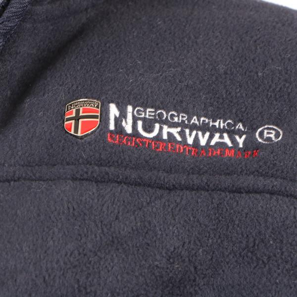 GEOGRAPHICAL NORWAY mikina pánská UBOLT s kožíškem