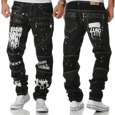 KOSMO LUPO kalhoty pánské KM176 jeans džíny kapsáče