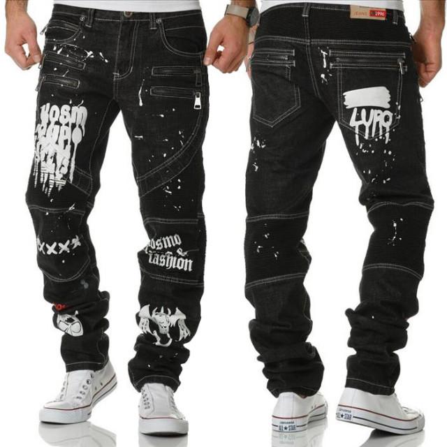 KOSMO LUPO kalhoty pánské KM159 jeans džíny - DG-SHOP.CZ f3f891b74c