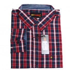 KAMRO košile pánská 259-23562 nadměrná velikost 100% bavlna