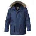 D555 bunda pánská LOVETT zimní parka nadměrná velikost