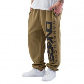Dangerous DNGRS kalhoty pánské Classic Sweat Pants Olive/Black
