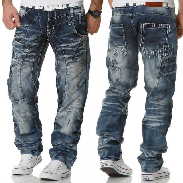 KOSMO LUPO kalhoty pánské KM040 jeans džíny - DG-SHOP.CZ 2da447f825