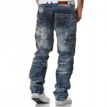 KOSMO LUPO kalhoty pánské KM040 jeans džíny