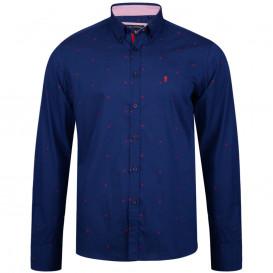KAM košile pánská KBS 6160 LS nadměrná velikost 100% bavlna