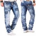 KOSMO LUPO kalhoty pánské KM050 jeans džíny