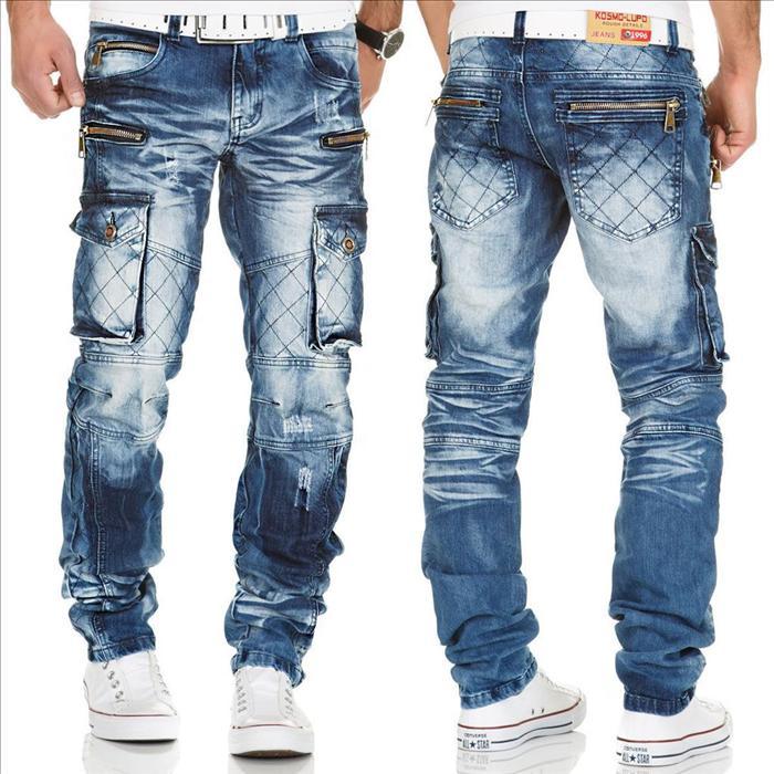 KOSMO LUPO extravagantní džíny do Vašeho šatníku 9307c0a885